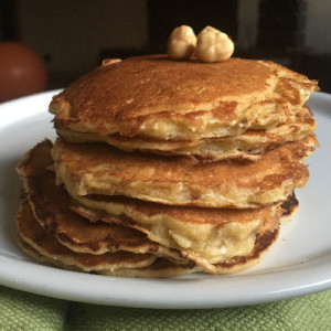 pancakes alle nocciole
