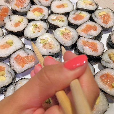 maki sushi homemade